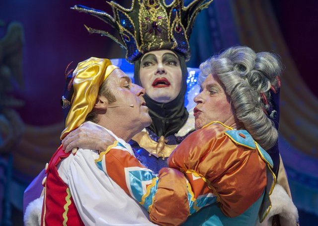 Allan Stewart, Andy Gray and Grant Scott – Edinburgh's very own panto legends – in Snow White at the King's Theatre