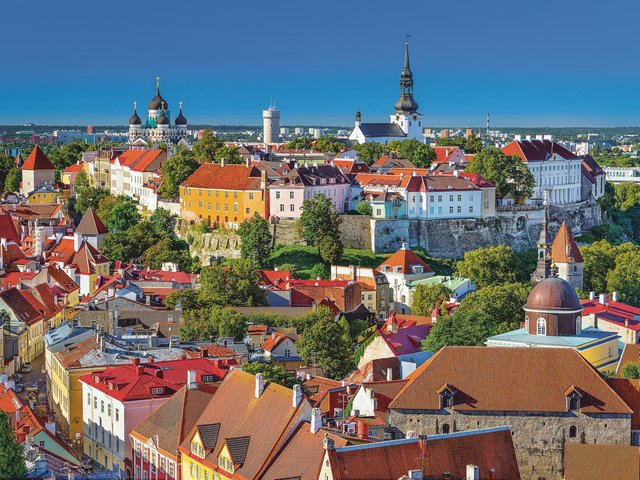 Tallinn skyline from Toompea Hill. Picture: Getty Images