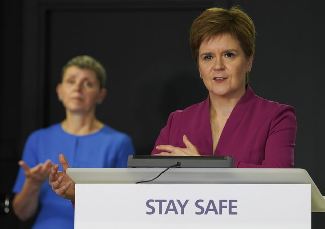 If SNP leader Nicola Sturgeon misplaces their trust, she will be very harshly judged by the Scottish electorate