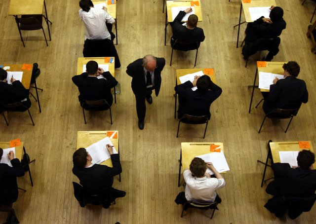 Nobody can say with confidence that exams will take place next year (Picture: PA)