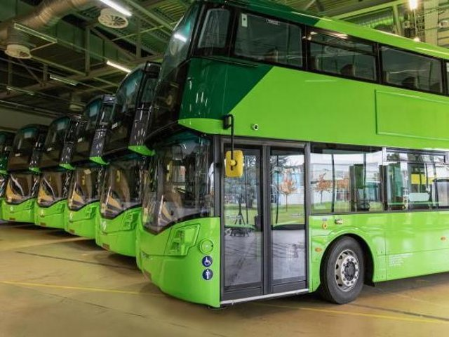 Glasgow will roll out a fleet of hydrogen buses