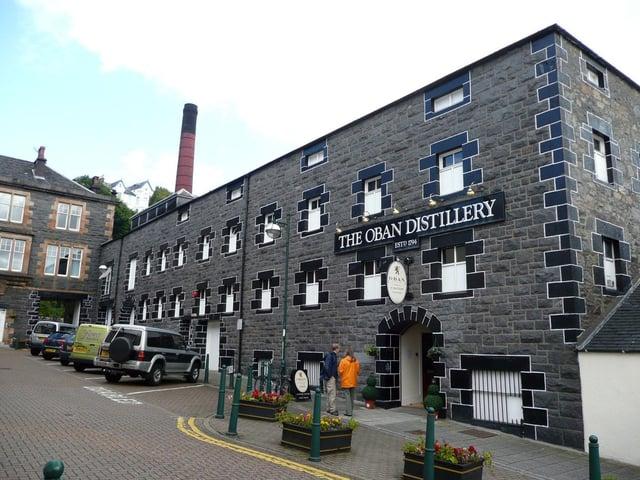 Oban Distillery. Picture: TSPL