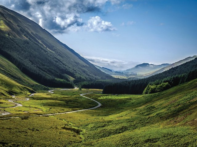 Rural residential and amenity buyers are drawn to Scotland's rural estates due to their great natural capital