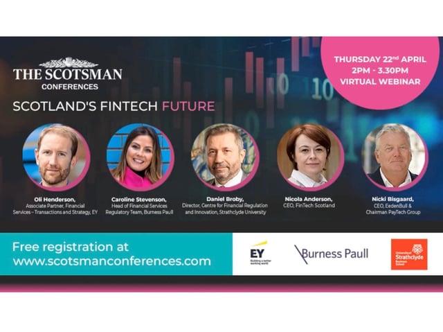 Participants in Scotsman Conferences' 'Scotland's Fintech Future' event