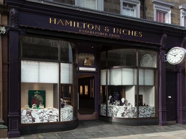 Picture: Hamilton & Inches