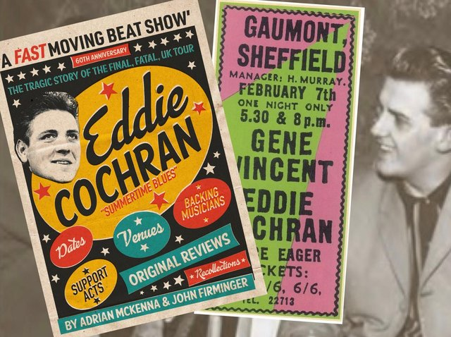 New book Eddie Cochran: A Fast Moving Beat Show  The Tragic Story of the Final, Fatal, Tour