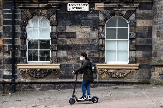 """The """"student exodus"""" could impact more than a million people in higher education across the UK. (Photo by Andy Buchanan / AFP)"""