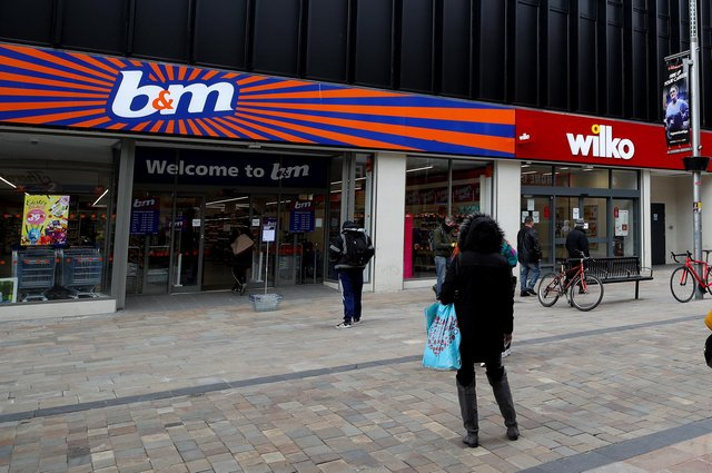 B&M said last year that it saw a jump in the number of new customers coming into its stores, attracted by its discount prices. Picture: Nick Potts/PA Wire