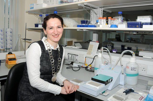 Professor Mirela Delibegovic from Aberdeen University