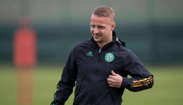 Leigh Griffiths has extended his Celtic stay