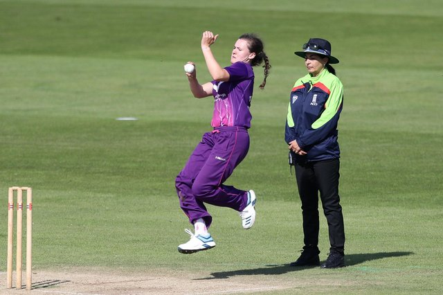 Kathryn Bryce, pictured in action for Loughborough Lightning, has been named Associate Player of the Decade.