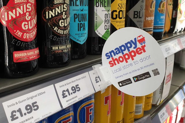 Snappy Group is behind the Snappy Shopper app and website – launched in Dundee in late 2017 – that allows consumers to order groceries from their local convenience store and have them delivered in as little as 30 minutes.