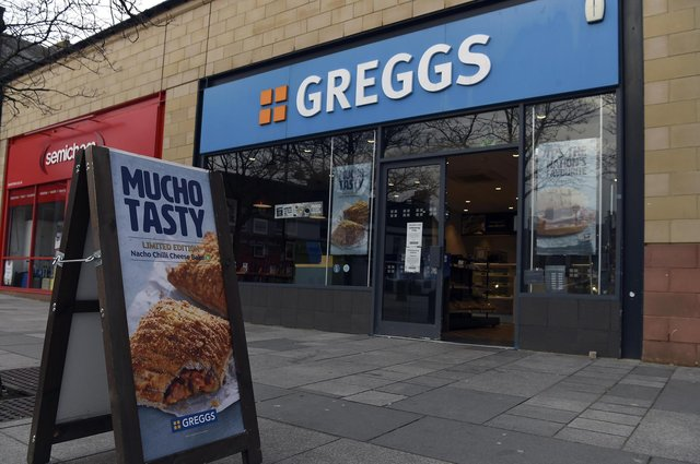 Greggs has more than 2,000 outlets across the UK. Picture: Lisa Ferguson