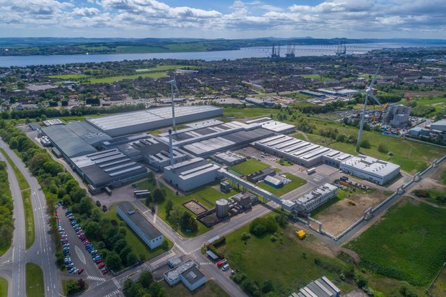 A former tyre factory site in Dundee is being transformed into the Michelin Scotland Innovation Parc for sustainable transport - a joint venture between Dundee City Council, Michelin and Scottish Enterprise