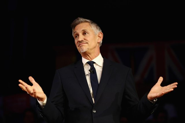 Match Of The Day host Lineker still highest earner at the BBC with a £1.36 million annual pay.(Photo by Jack Taylor/Getty Images)