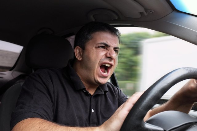 Road rage can have an effect on the aggressor and the victim