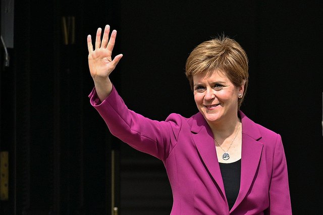 Nicola Sturgeon is due to make an announcement todayto update Scotland on the latest coronavirus restrictions. (Photo by Jeff J Mitchell/Getty Images)