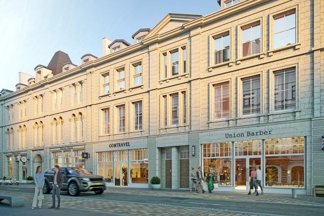 Union Court is billed as 'one of the largest retail projects witnessed in the city centre in recent years'. Picture: contributed.