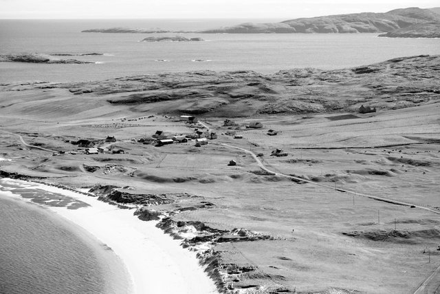 Photogapher Paul Glazier first visited Vatersay in the early 70s, when aged 12 and a schoolboy in London. A connection to the island and its people has developed ever since. PIC:  Paul Glazier.