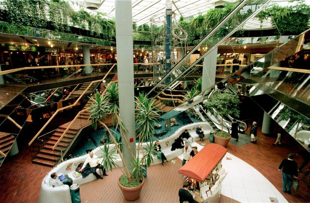 The Waverley Shopping Centre, now Waverley Mall, looked very different in 1996.