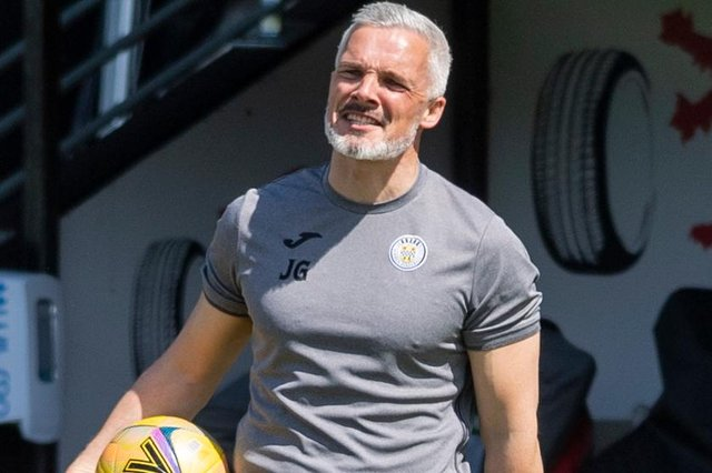 St Mirren manager Jim Goodwin has secured the club's highest league finish since 1989. (Photo by Mark Scates / SNS Group)