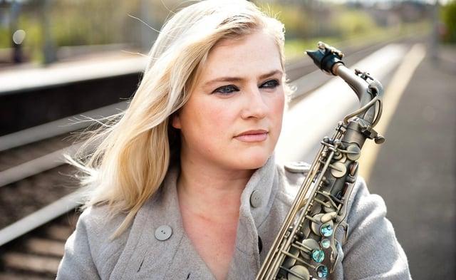 Saxophonist - and Masterchef finalist - Laura Macdonald