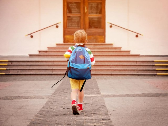 Schools have started a phased return in Scotland (Shutterstock)