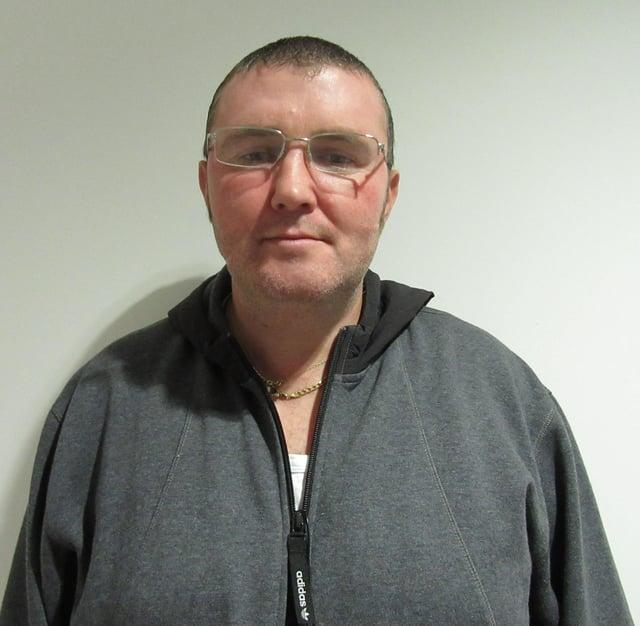 Joseph Shields, 43, was last seen in the Kilwinning Road area of Irvine around 9.20am on Thursday (Photo: Police Scotland).