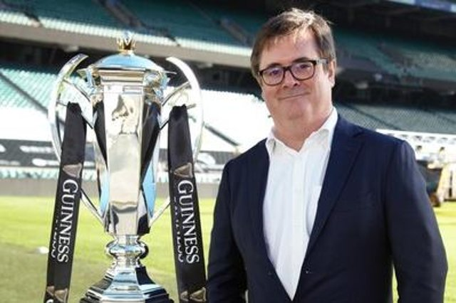 Ben Morel,  chief executive of the Guinness Six Nations. Picture: ©INPHO/Guinness Six Nations
