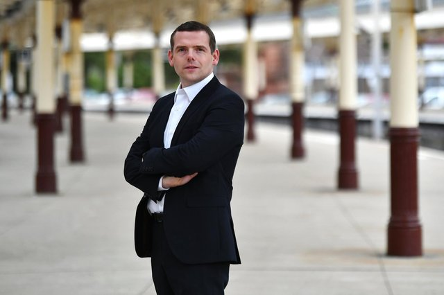 Douglas Ross has said he would introduce Barnett formula style funding for councils.