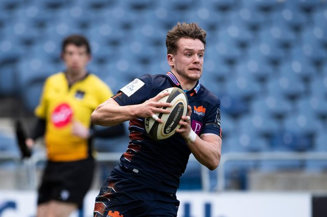 Darcy Graham has signed a new contract with Edinburgh Rugby. Picture: Paul Devlin / SNS