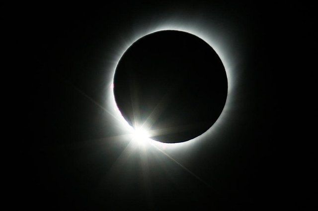 The total solar eclipse of 2 July 2019 as seen from Chile, which will also experience a total eclipse today (Photo: Marcelo Hernandez/Getty Images)