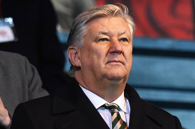 Celtic chief Executive Peter Lawwell  has made an oustanding contribution to his club's cause for almost two decades. (Photo by Craig Williamson / SNS Group)