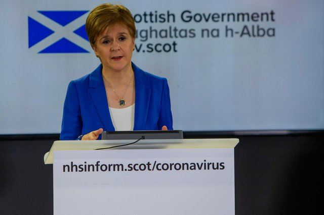 Did Nicola Sturgeon's many televised Covid briefings prime audiences to vote for SNP? (Picture: Getty Images)