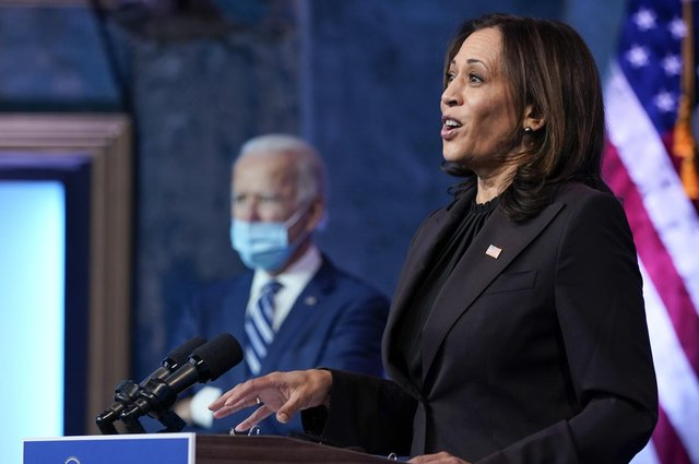 Kamala Harris should be a true co-pilot to President-Elect Joe Biden, and not be fobbed off with special projects (Picture: Carolyn Kaster/AP)
