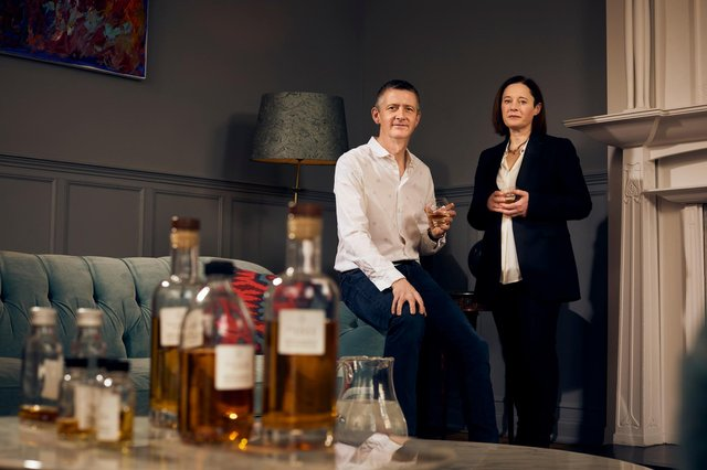 Richard Dixon and Claire Kinloch are to launch a new rum brand from Scotland after setting up their own spirits business. Picture: Peter Dibdin
