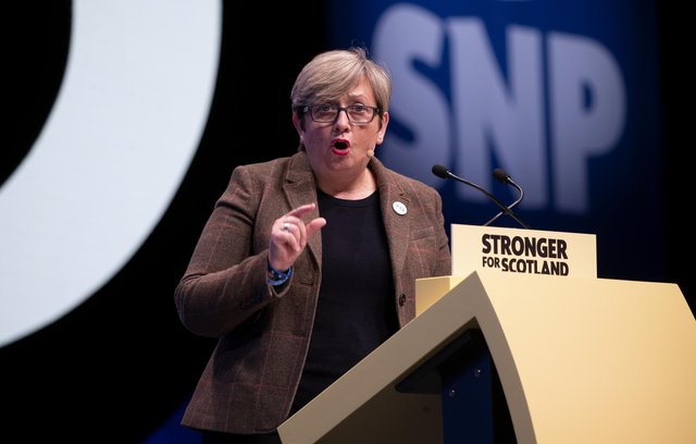 Joanna Cherry, who has initiated legal action against an actor due to alleged defamation.