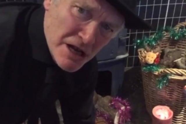 Crawford Logan as Scrooge