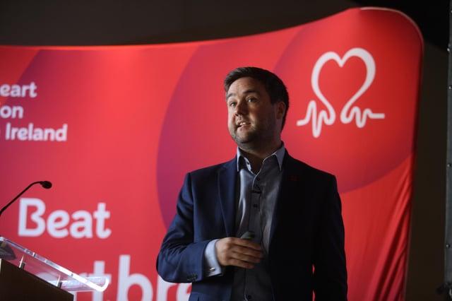 David McColgan, British Heart Foundation Scotland