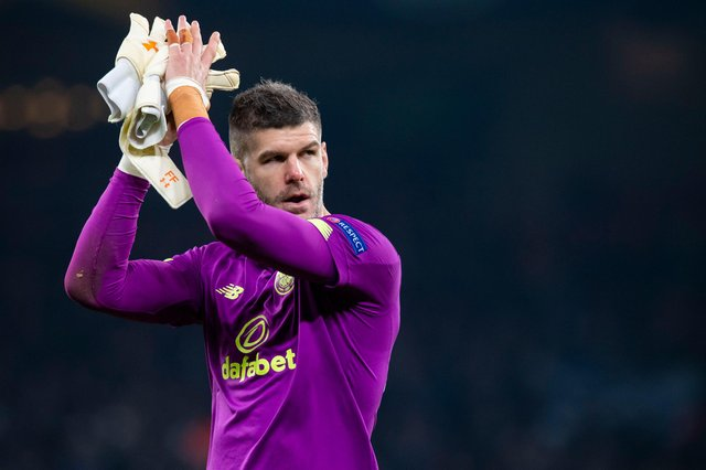 Fraser Forster might be netter predisposed to another Celtic loan move now than in the summer after failing to be make it on to the pitch for Southampton this season. (Photo by Craig Williamson / SNS Group)