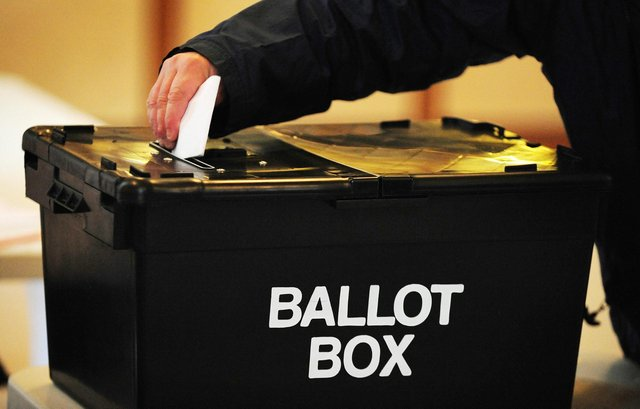 Ballot paper slogans have to be approved by the Electoral Commission