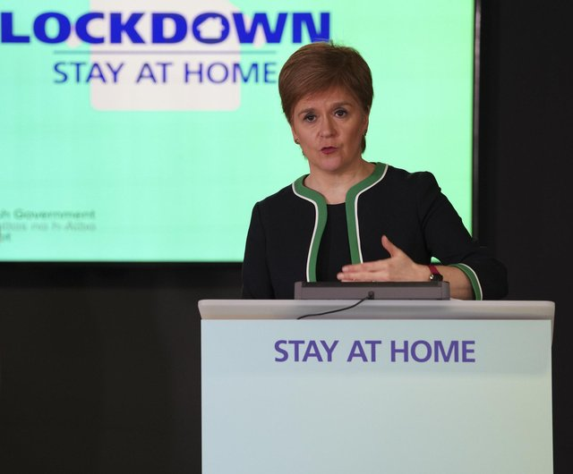 First minister Nicola Sturgeon could face a vote of no confidence.