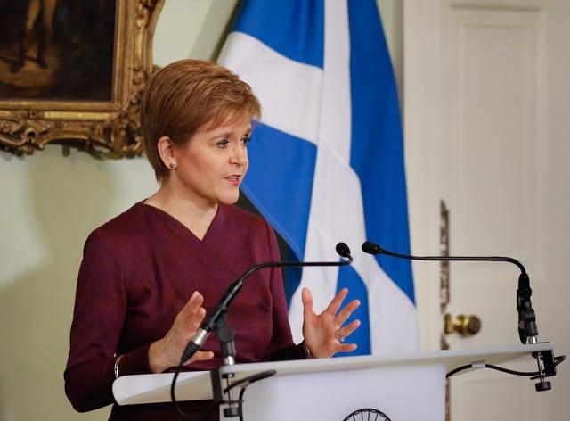Nicola Sturgeon says Scotland will rejoin EU after independence