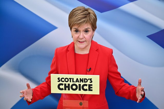 Nicola Sturgeon has been 'almost Teflon' over her handling of the Covid crisis but that is changing, says Kenny MacAskill (Picture: Jeff J Mitchell/WPA pool/Getty Images)