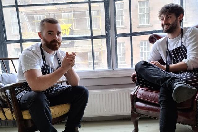 Tomas Gormley and Sam Yorke of Bad Seeds