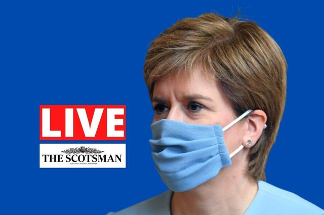 First Minister Nicola Sturgeon will give the latest coronavirus update for Scotland on Tuesday.