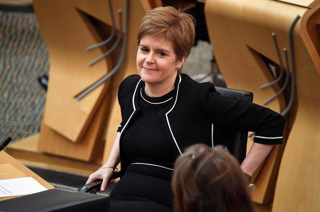 Nicola Sturgeon is among those taking part in the digital incarnation of the annual Book Week Scotland celebration. Picture: Andy Buchanan / Getty Images
