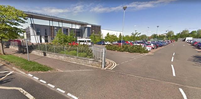 Grangemouth High School (Photo: Google Maps).