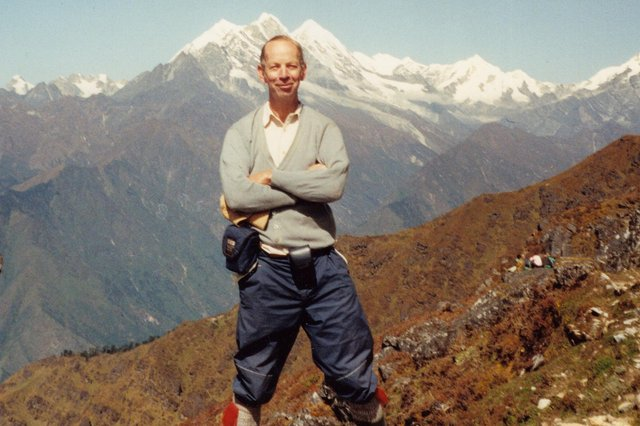 Graham Meikle was a lover of the Great Outdoors