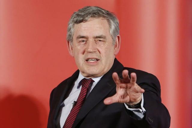Gordon Brown has waded into the Sturgeon Versus Salmond row.